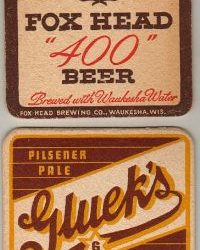 Fox Brewing Co., Waukesha, WI /  Gluek Brewing Co., Minneapolis, MN