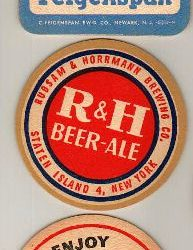 C. Feigenspan Brewing Co., Newark, NJ / Rubsam & Horrmann Brewing Co., Staten Island, NY / G. Krueger Brewing Co., Newark, NJ