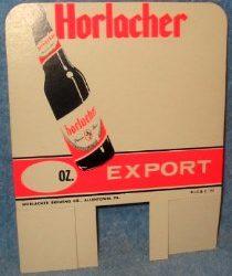 Horlacher Brewing Co., Allentown, PA
